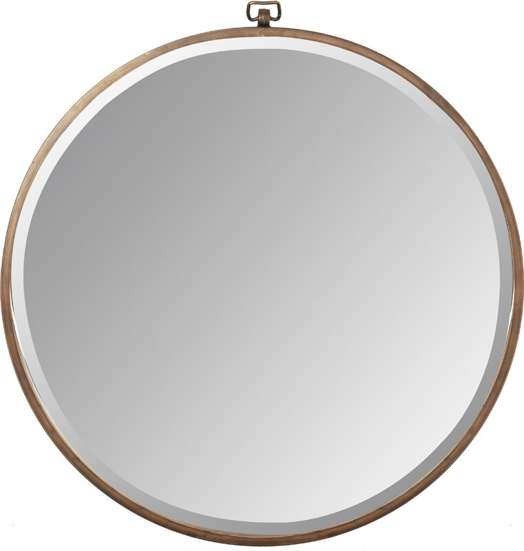Minerva Wall Mirror #roundmirror #modernfarmhouse #farmhousemirror