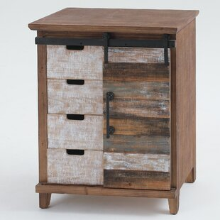 Tanja Sliding Wood 1 Door Accent Cabinet by Gracie Oaks