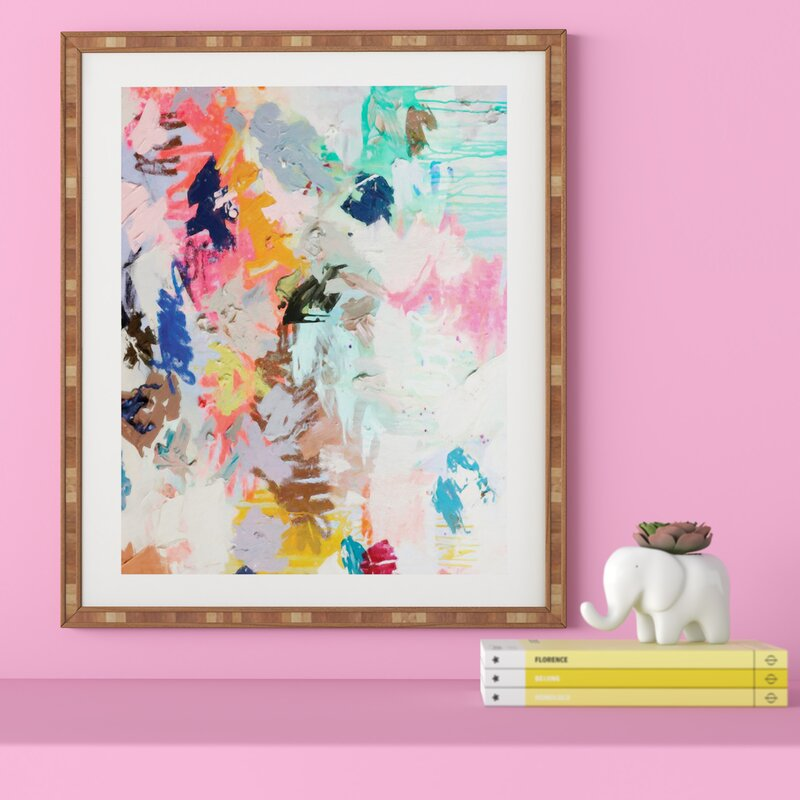 East Urban Home Picture Frame Graphic Art Print On Wood Reviews Wayfair
