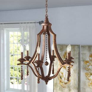 Astoria Grand Belding 6-Light Chandelier