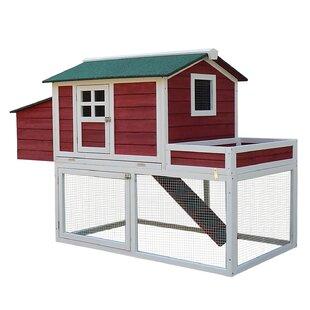 Chicken coops you 39 ll love wayfair for Maintenance free chicken coop