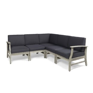 Brickhouse Patio Sectional with Cushions