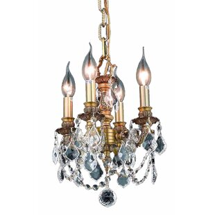 Astoria Grand Downes 4-Light Candle Style Chandelier