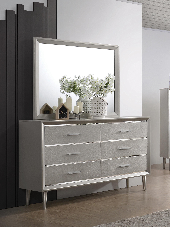 Mercer41 Brough Beveled Dresser Mirror Wayfair