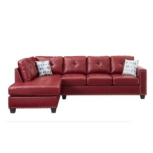 Merino Reversible Sectional with Ottoman