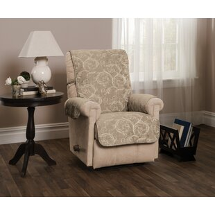 Scroll Jacquard Recliner Slipcover