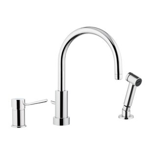 Remer by Nameek's Single Handle Kitchen Faucet with Side Spray