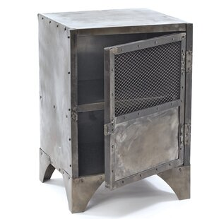 Lopiccolo Vintage Steel Shoe Accent Cabinet