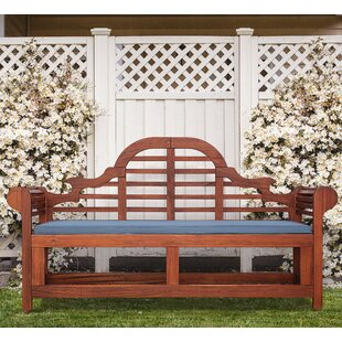 Blytheville Wooden Bench By Sol 72 Outdoor