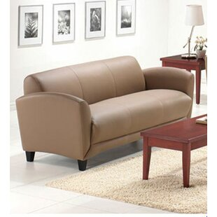 Shop Manhattan Leather Sofa by OfficeSource