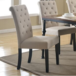 Tyerell Upholstered Dining Chair (Set of 2) by Gracie Oaks