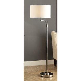 Online Reviews Shive 60 Swing Arm Floor Lamp By Brayden Studio