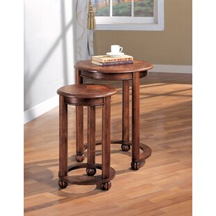 Ferreira Living Room Accent Round 2 Piece Nesting Tables
