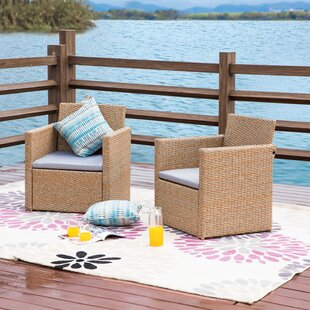 Hoard 2 Piece Seating Group with Cushions by Highland Dunes