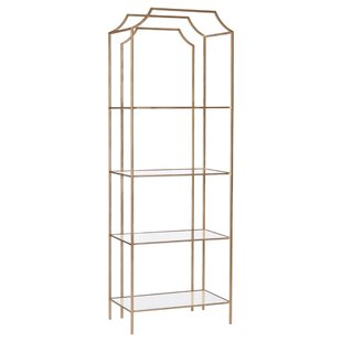 Gadd Metal Bookcase By Everly Quinn