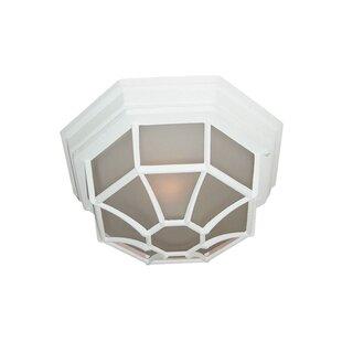 Woodbridge Lighting Basic 1-Light Flush Mount