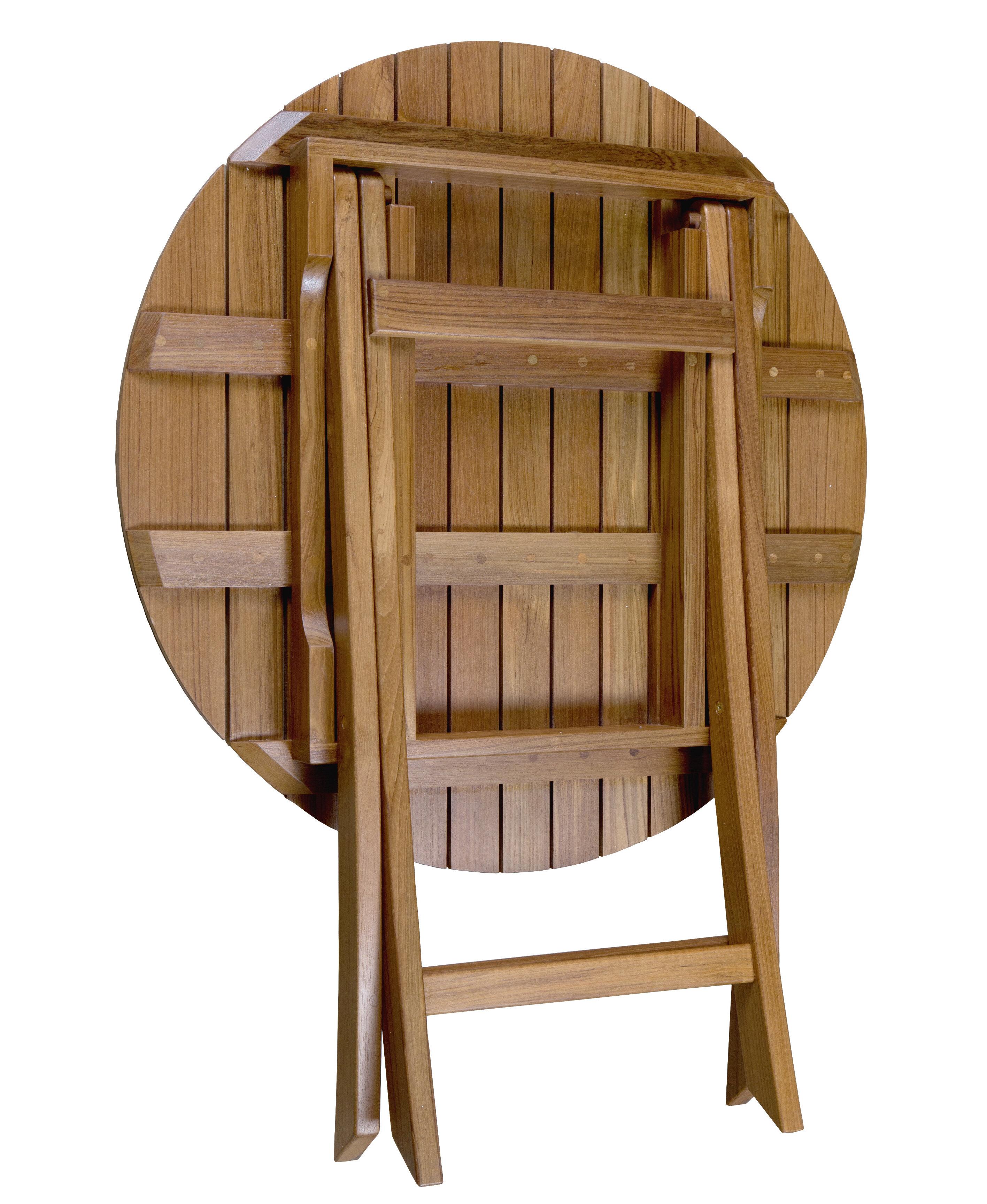 Folding Teak Side Table.Rothsay Folding Teak Side Table