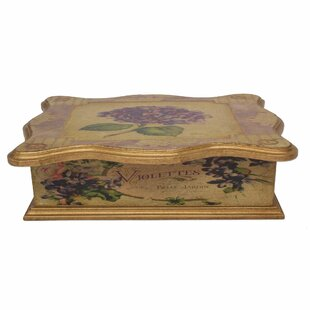 Savings Decoupage Hydrangea Jewelry Box ByOphelia & Co.