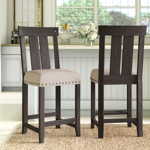Price comparison Langsa 24 Bar Stool (Set of 2) by Laurel Foundry Modern Farmhouse Reviews (2019) & Buyer's Guide
