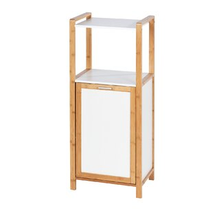 Vanesa Bamboo Cabinet Laundry Bin By House Of Hampton