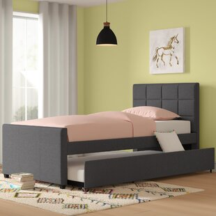 Algrenon Twin Platform Bed with Trundle