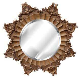 Hickory Manor House Medallion Accent Mirror