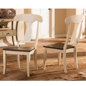 eamor solid wood dining chair set of 2