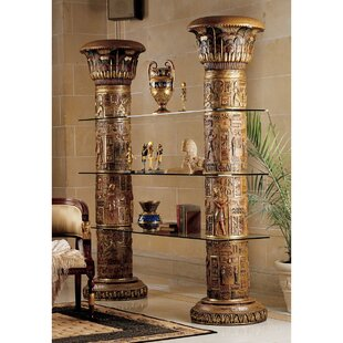 Compare & Buy Egyptian Standard Bookcase By Design Toscano