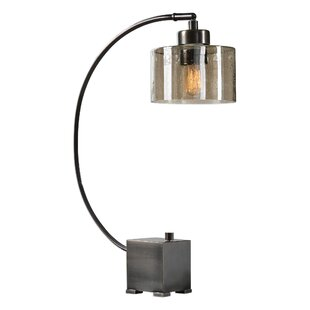 Read Reviews Kiril Arched Iron 26 Table Lamp By 17 Stories