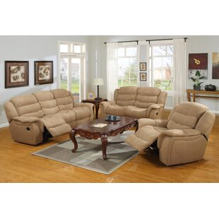 Price comparison New Orleans Reclining  Configurable Living Room Set by Flair Reviews (2019) & Buyer's Guide