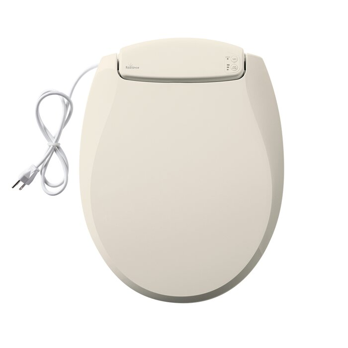 Fabulous Radiance Heated Night Light Round Toilet Seat Dailytribune Chair Design For Home Dailytribuneorg