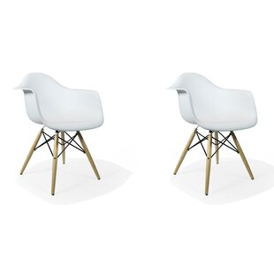 Wheeling Dining Chair (Set of 2) by Ivy B..