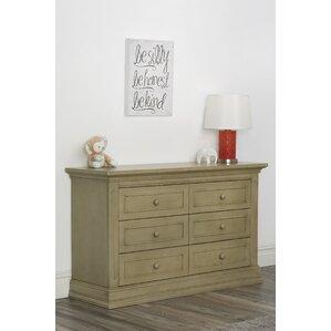 Dakota 6 Drawer Double Dresser by Suite Bebe