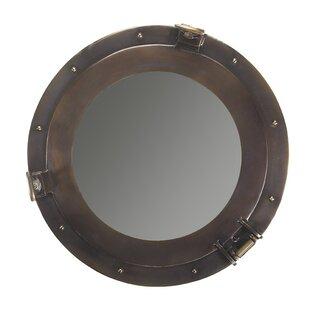 Nautical Cabin Porthole Accent Mirror