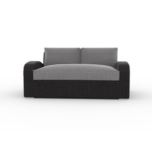 Boomer Loveseat with Cushions by Bungalow Rose