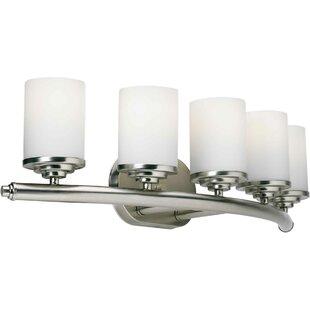 Inexpensive Huntington 5-Light Vanity Light ByLatitude Run