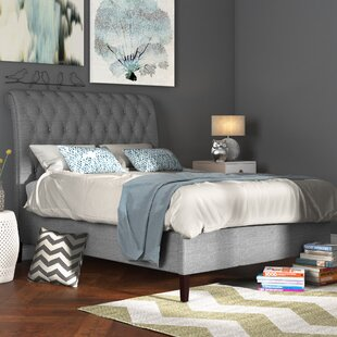 Review Tansey Upholstered Bed Frame