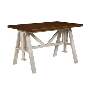 Adalbert Solid Wood Dining Table August Grove