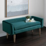 Khoury Upholstered Bench by Ivy Bronx