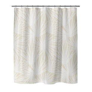 Oey Palm Balm Single Shower Curtain