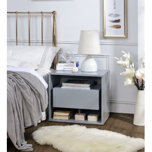 Alexandrine 1 Drawer Nightstand by Orren Ellis
