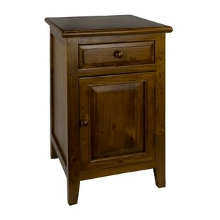 Barba 1 Drawer Nightstand