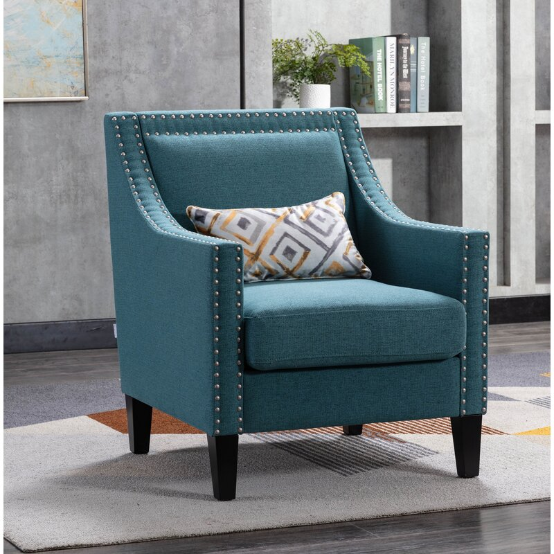 red barrel studio® accent armchair living room chair with