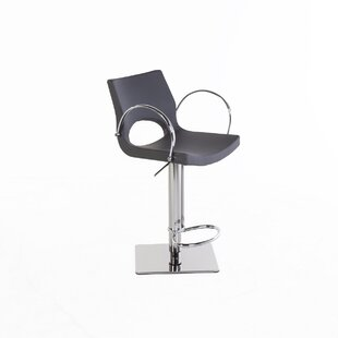 Adjustable Height Swivel Bar Stool Stilnovo