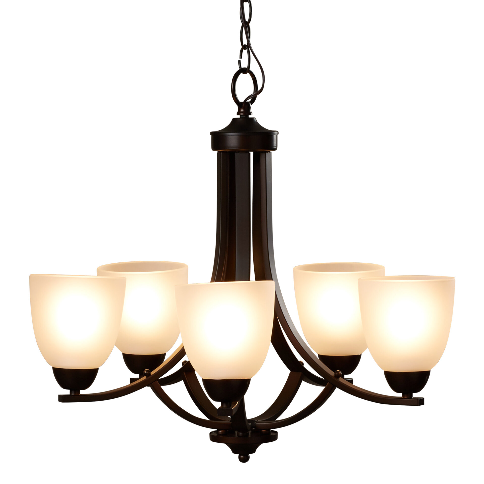 Andover Mills Hayden 5 Light Shaded Classic Traditional Chandelier Reviews Wayfair