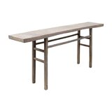 LinoLakes 77 Solid Wood Console Table by Loon Peak®