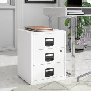 PFA 3-Drawer Filing Cabinet By Bisley