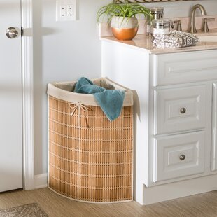 Honey Can Do Wicker Laundry Hamper