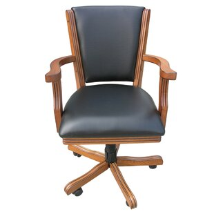 Hathaway Games Kingston Poker Synthetic Leather Upholstered Dining Chair (Set of 4)