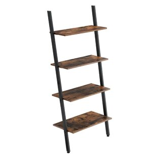 Cliffo Rustic Ladder Bookcase by Union Rustic